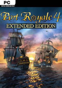 Port Royale 4 - Extended Edition + Beta PC cheap key to download