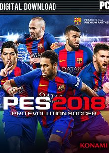 Pro Evolution Soccer (PES) 2018 - Standard Edition PC billig Schlüssel zum Download
