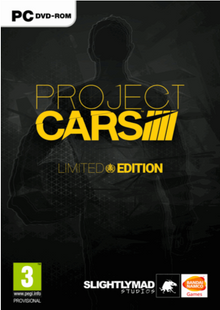 Project CARS Limited Edition PC billig Schlüssel zum Download