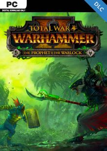 Total War: Warhammer II 2 - The Prophet & The Warlock DLC PC (WW) cheap key to download