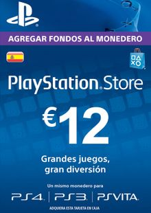 PlayStation Network (PSN) Card - 12 EUR (Spain) cheap key to download