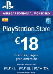 PlayStation Network (PSN) Card - 18 EUR (Spain) cheap key to download