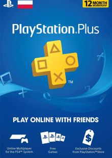 PlayStation Plus - 12 Month Subscription (Poland) cheap key to download