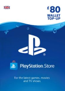 Playstation Network (PSN) Card - £80 (UK) cheap key to download