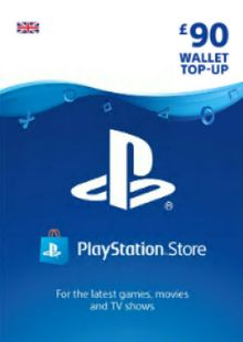 Playstation Network (PSN) Card - £90 (UK) cheap key to download