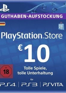 PlayStation Network (PSN) Card - 10 EUR (Germany) cheap key to download