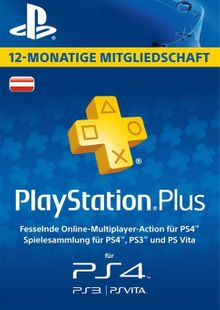 PlayStation Plus (PS+) - 12 Month Subscription (Austria) billig Schlüssel zum Download