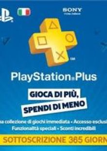 PlayStation Plus (PS+) - 12 Month Subscription (Italy) clé pas cher à télécharger