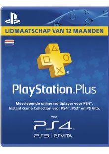Playstation Plus (PS+) - 12 Month Subscription (Netherlands) clé pas cher à télécharger
