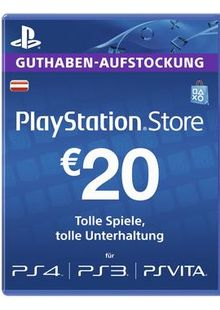 PlayStation Network (PSN) Card - 20 EUR (Austria) cheap key to download