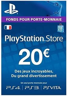 PlayStation Network (PSN) Card - 20 EUR (France) clave barata para descarga