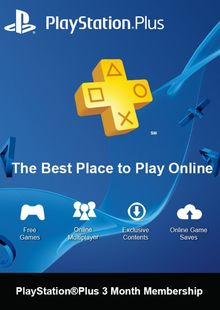 PlayStation Plus (PS+) - 3 Month Subscription (Switzerland) clé pas cher à télécharger