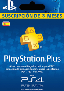 PlayStation Plus (PS+) - 3 Month Subscription (Spain) billig Schlüssel zum Download