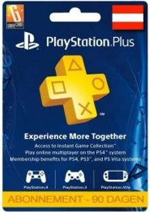 PlayStation Plus (PS+) - 3 Month Subscription (Austria) billig Schlüssel zum Download
