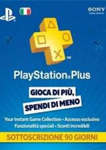PlayStation Plus (PS+) - 3 Month Subscription (Italy) cheap key to download