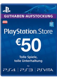 PlayStation Network (PSN) Card - 50 EUR (Austria) cheap key to download