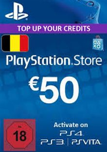 PlayStation Network (PSN) Card - 50 EUR (Belgium) clave barata para descarga