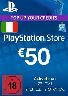 PlayStation Network (PSN) Card - 50 EUR (Italy) cheap key to download