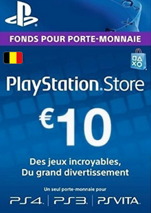 PlayStation Network (PSN) Card - 10 EUR (Belgium) cheap key to download