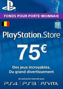 PlayStation Network (PSN) Card - 75 EUR (Belgium) clave barata para descarga