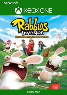 Rabbids Invasion: The Interactive TV Show Xbox One (WW) cheap key to download