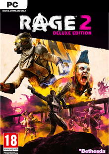 Rage 2 Deluxe Edition PC + DLC cheap key to download