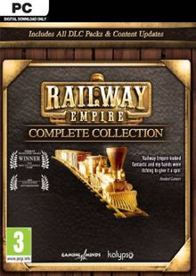 Railway Empire - Complete Collection PC (EU) chiave a buon mercato per il download