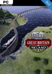 Railway Empire PC: Great Britain and Ireland DLC cheap key to download