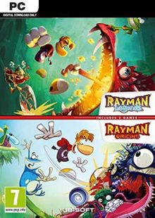 Rayman Legends + Rayman Origins PC cheap key to download