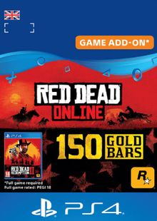 Red Dead Online 150 Gold Bars PS4 (UK) cheap key to download
