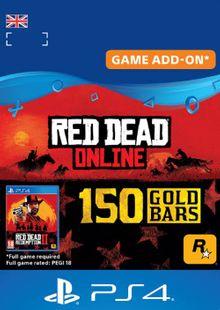 Red Dead Online 150 Gold Bars PS4 (UK) billig Schlüssel zum Download