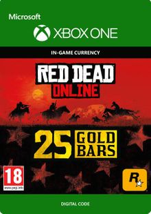 Red Dead Online: 25 Gold Bars Xbox One billig Schlüssel zum Download