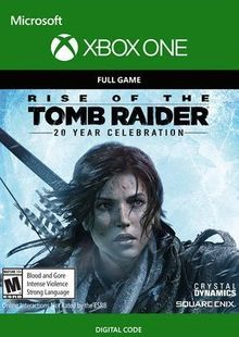 Rise of the Tomb Raider 20 Year Celebration Xbox One billig Schlüssel zum Download