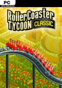Rollercoaster Tycoon Classic PC cheap key to download