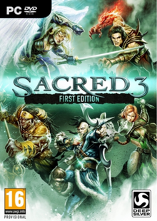 Sacred 3 First Edition PC cheap key to download