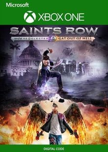 Saints Row IV: Re-Elected and Gat out of Hell Xbox one (UK) cheap key to download