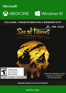 Sea of Thieves Anniversary Edition Xbox One / PC (US) cheap key to download