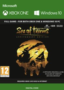 Sea of Thieves Anniversary Edition Xbox One cheap key to download
