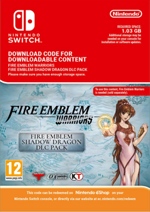 Fire Emblem Warriors Shadow Dragon Pack DLC Switch cheap key to download