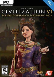 Sid Meier's Civilization VI: Poland Civilization and Scenario Pack PC (WW) billig Schlüssel zum Download