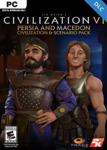 Sid Meier's Civilization VI: Persia and Macedon Civilization and Scenario Pack PC (WW) cheap key to download
