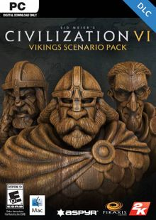Sid Meier's Civilization VI: Vikings Scenario Pack PC (WW) cheap key to download