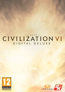 Sid Meier's Civilization VI 6 Digital Deluxe PC (Global) clé pas cher à télécharger