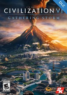 Sid Meiers Civilization VI 6 PC Gathering Storm DLC (EU) cheap key to download