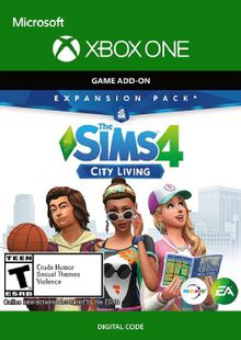 The Sims 4 - City Living Xbox One (UK) cheap key to download