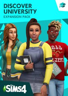 The Sims 4 - Discover University Expansion Pack PC clé pas cher à télécharger