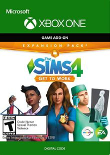 The Sims 4 Get to Work Xbox One (UK) cheap key to download
