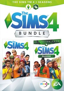 The Sims 4 Plus Seasons Bundle PC clé pas cher à télécharger