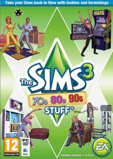 The Sims 3: 70s, 80s and 90s Stuff PC clé pas cher à télécharger