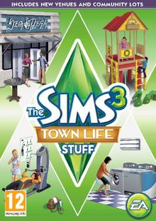 The Sims 3: Town Life Stuff PC/Mac cheap key to download